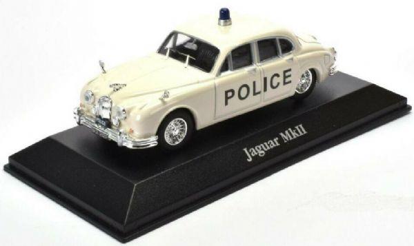 ATLAS DIECAST 1//43 1965 JAGUAR MKII MK2 STAFFORDSHIRE CONSTABULARY POLICE CAR
