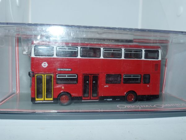 Corgi OOC 45102 Metrobus MkI London Transport Bus  W8  Chase Farm MIMB