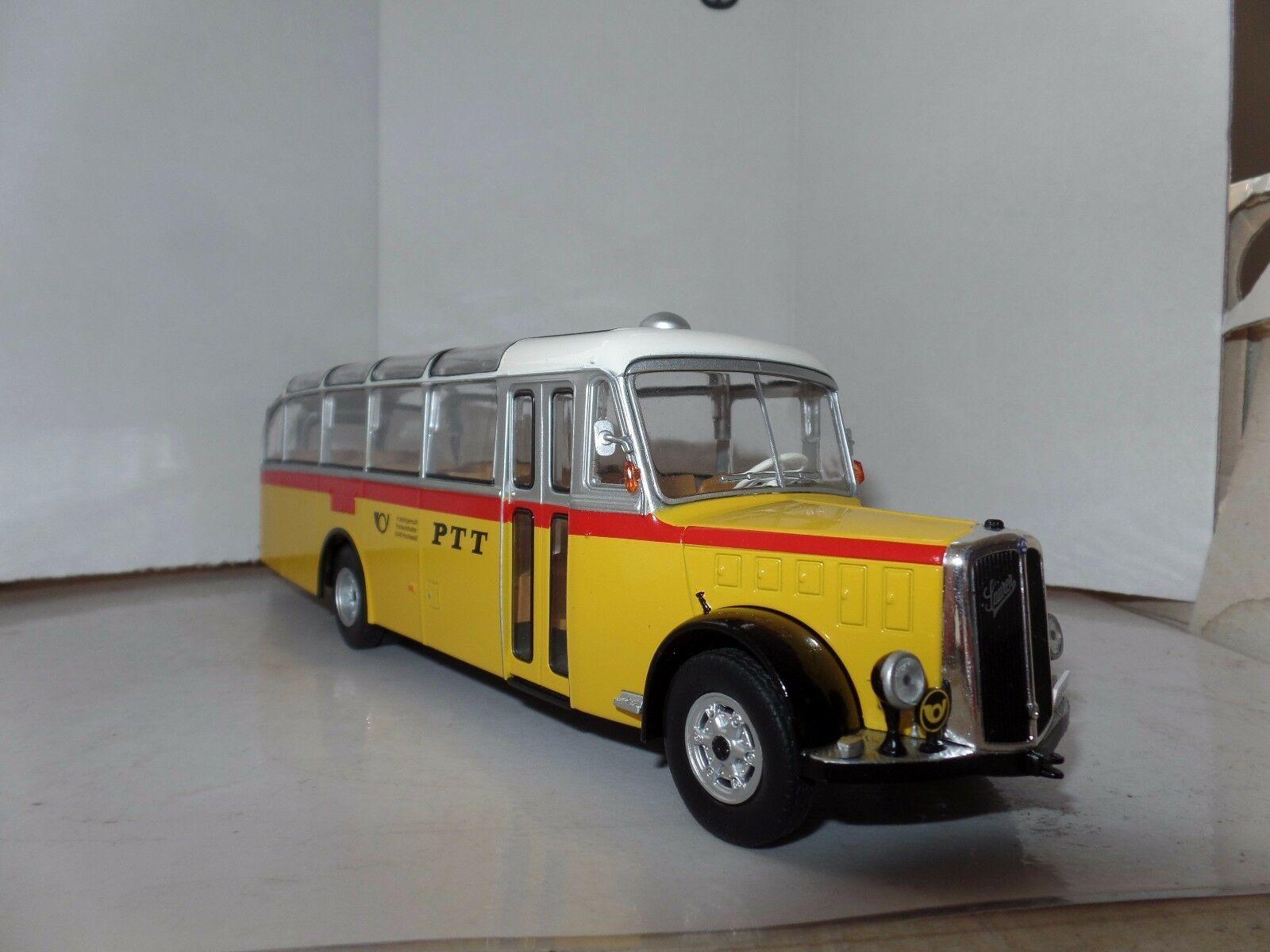 SAURER L4C 1949 Ptt Schweizer Postbus Zur 1//43° Bus /& Reisebusse Der Welt