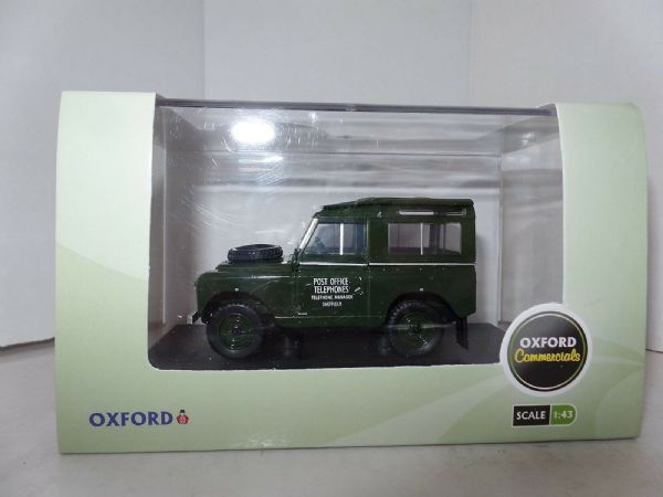 Land Rover Series II Swb Post Office Telephone 1:43 Model OXFORD