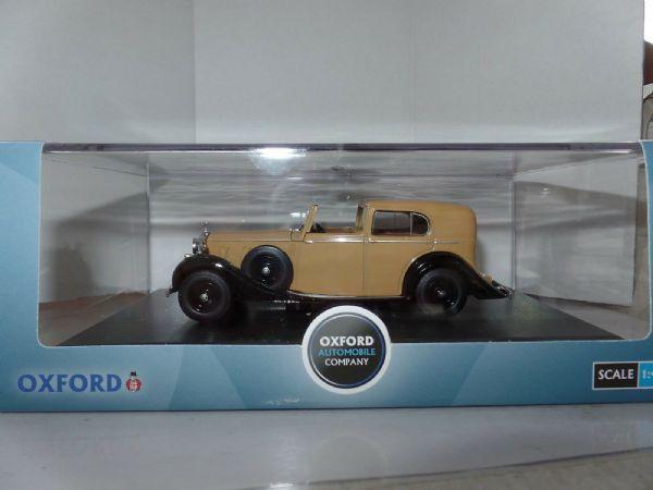 1936-1939 beige//negro Oxford 1:43 Rrp3002 Rolls Royce Phantom III nuevo /&