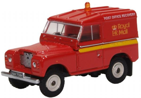 76LR2S004 Oxford 1:76 Scale Land Rover Series II SWB Post Office Telephones