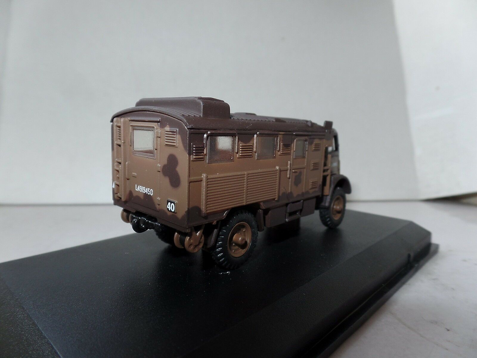 OXFORD DIECAST 76QLR001 1:76 OO SCALE Bedford QLR 1st Infantry Division UK 1942
