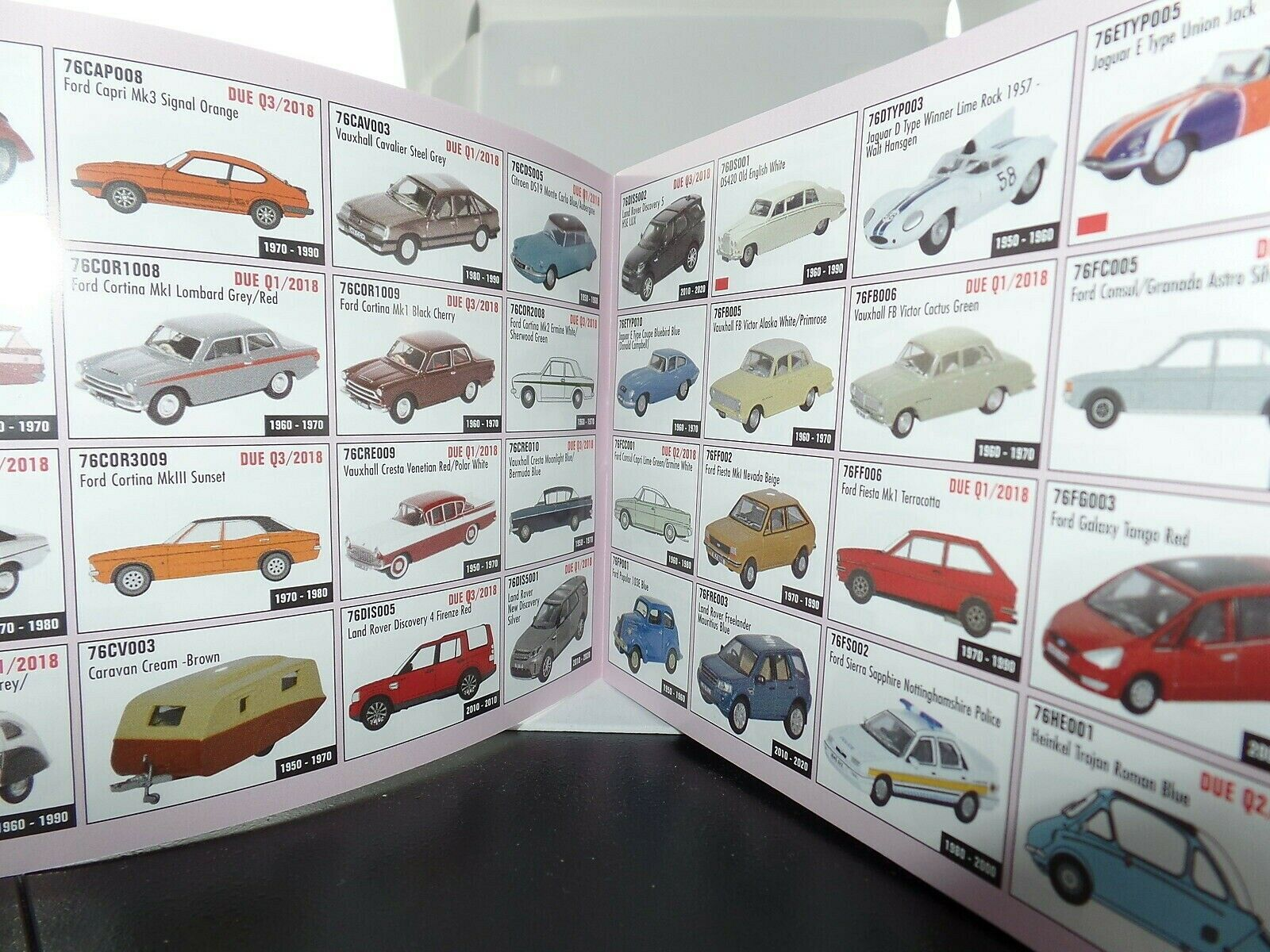 May 2018 Oxford Diecast Catalogue February 2018